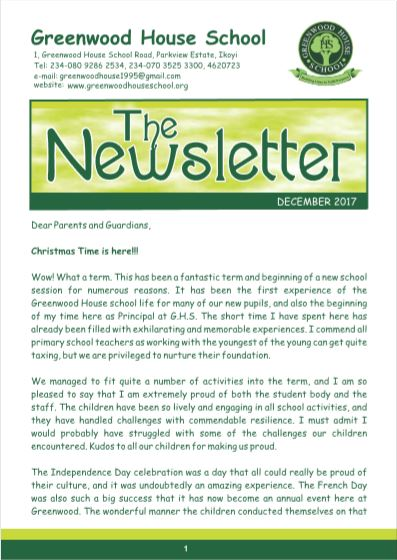 dec ngw - Newsletter
